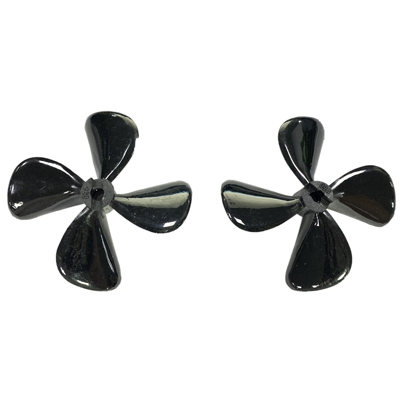 RC Boat 4X70mm Four Blades Paddle Nylon Boat Propeller Positive & Reverse Screw RC Boat Propeller