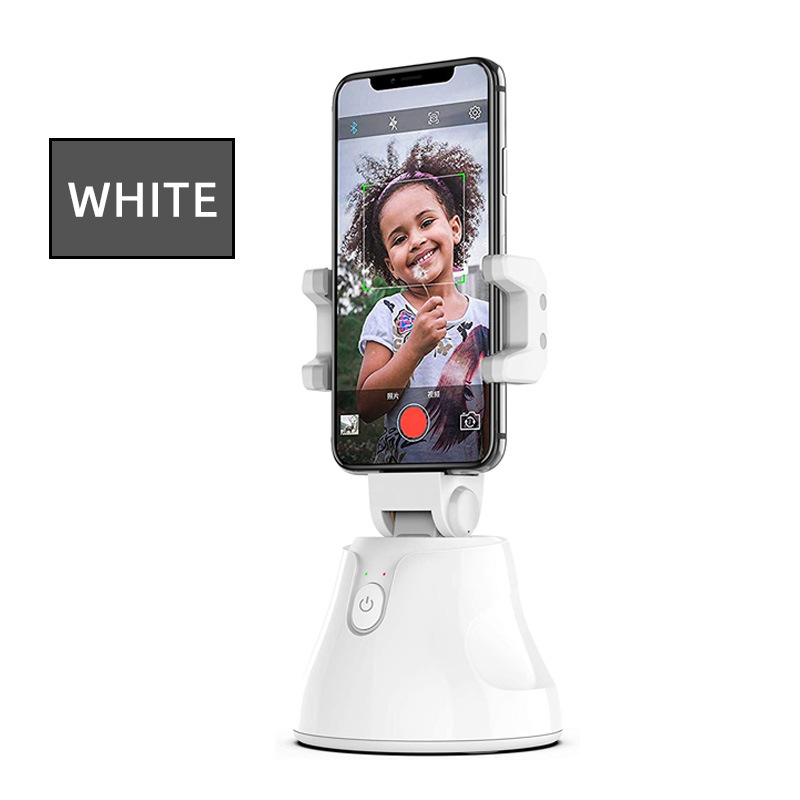 Smart Selfie Stick Following Shooting Gimbal 360 Degree Rotation Adjustable 3D Live Face Automatic Tracking Camera Phone Holder