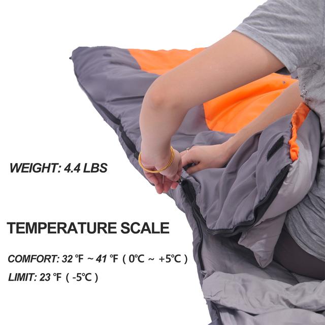 1 stk Winter Cotton sovepose, 220x85cm