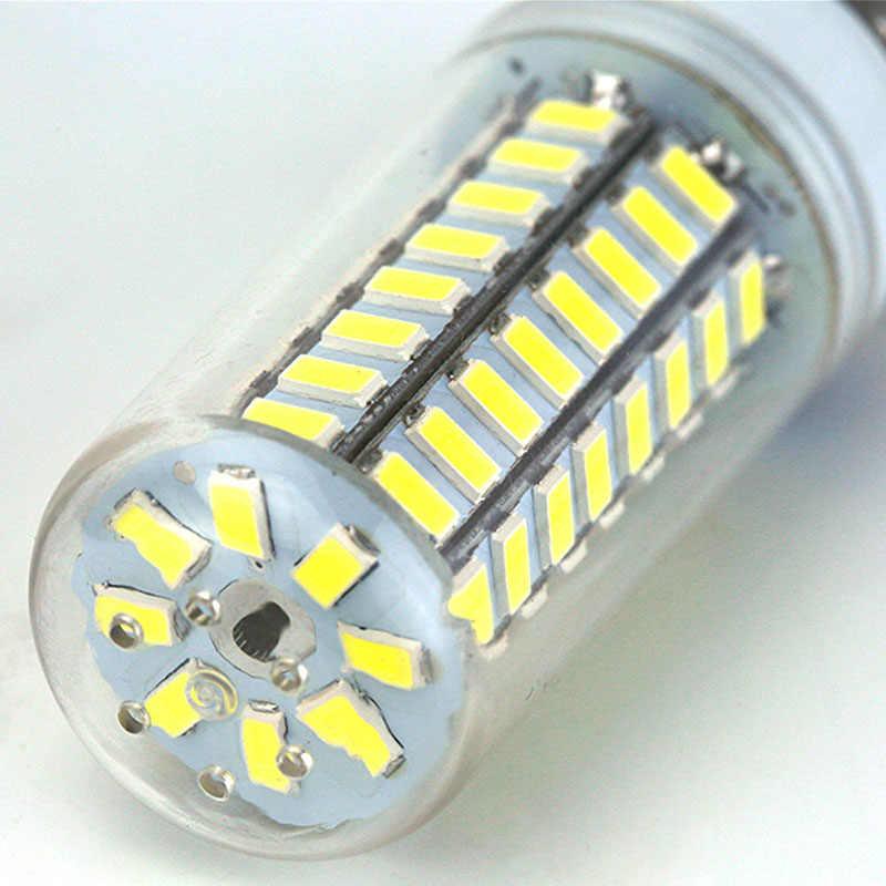ランパーダ E27 led ランプ 220 v 24 38 48 56 69 72 96 led ライト電球スポットライト電球ホームシャンデリアアンプル bombillas led トウモロコシ電球