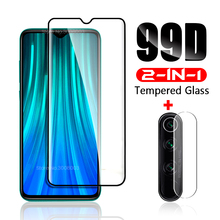2-in-1 glass on redmi note 8 pro protective glass for xiaomi redmi 8a 8 camera lens film screen protector glass note8 note8pro