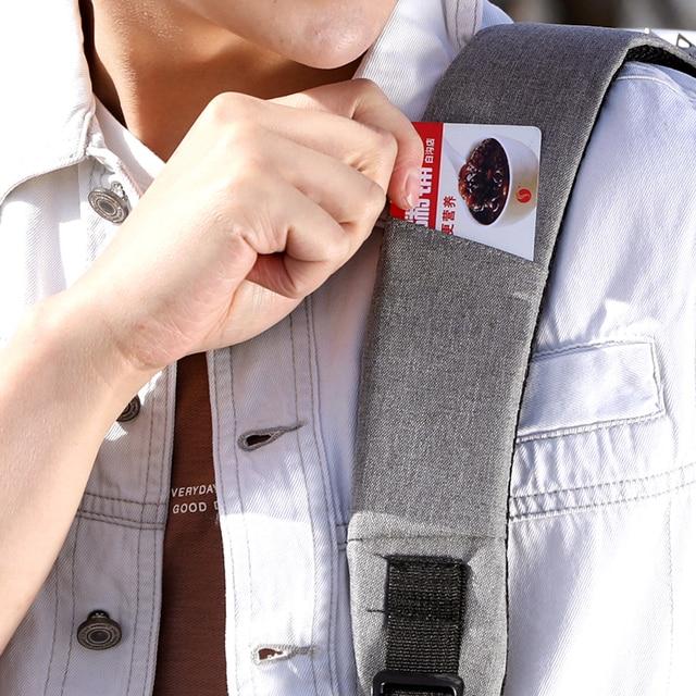 "OUBDAR Men Multifunction Anti Theft Backpack 15.6"" Inch Laptop Usb Charging Backpacks Waterproof Schoolbag Business Travel Bags 6"