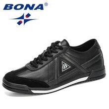 BONA 2020 New Designers Skateboarding Shoes Sports Shoes Men Outdoor Walking Shoes  Jogging Footwear Masculino Chaussure Homme