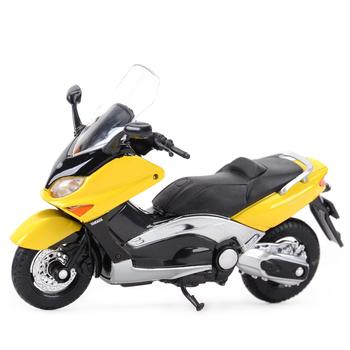 Welly 1:18 YAMAHA 2001 XP500 Tmax Diecast Alloy Motorcycle Model Toy welly 12154p велли модель мотоцикла 1 18 motorcycle yamaha 2001 yzf1000r thunderace