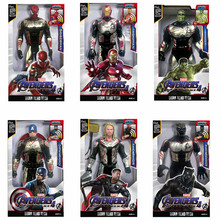 30cm avengers Quantum warfare iron man Captain America Thor Spiderman  Ant-Man PVC action figure toys collectible model toy gift
