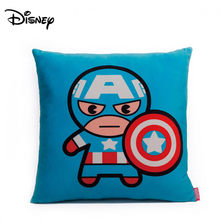Disney Marvel Plush Bantal Iron Man Spider-Man Captain America Thunder Eagle Eye Seri Superhero Bantal Sandaran Kepala(China)