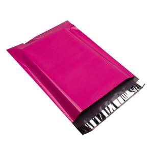 Image 1 - 100pcs 15x23cm/6x9 inch Pink Poly Mailers Boutique Shipping Bags Couture Envelopes