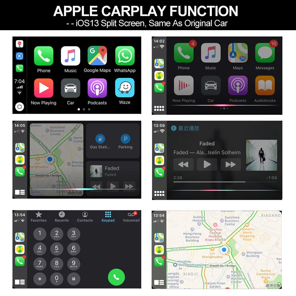 Carlinkit adaptateur USB CarPlay pour unité de tête de voiture Android Zbox2 Plug and Play pour écran tactile - 4