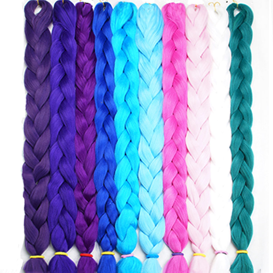 Alizing Jumbo Synthetic Locks For Braid Hair Extension 82 Inches Crochet Premium Super Linda Ultra Braiding Hair Expression