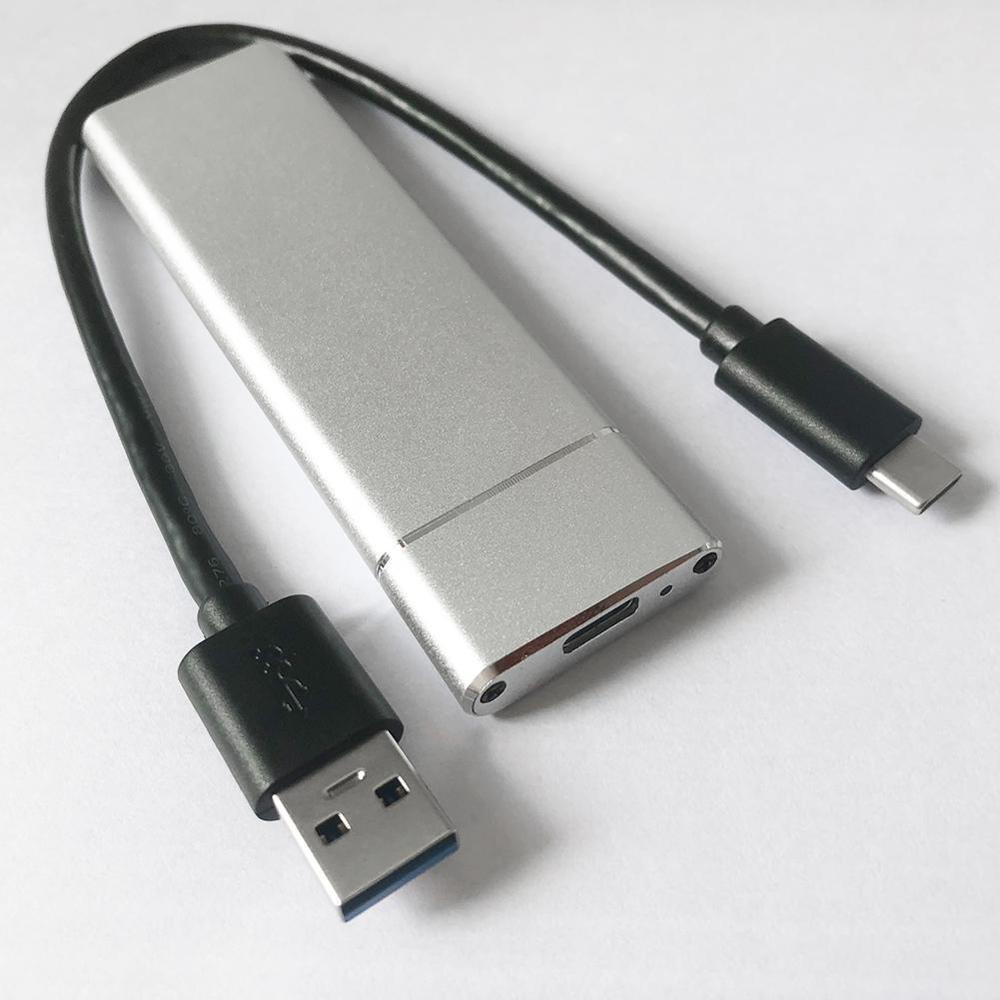 Корпус для жесткого диска USB 3,1 type C к M.2 NGFF SSD адаптер конвертер корпус высокоскоростной диско Дуро externo hdd док-станция