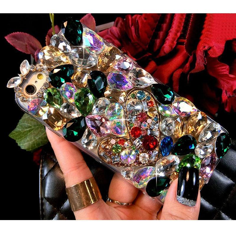 sunjolly Lüks Almaz Diamond Case Rhinestone Bling Cover iPhone 11 - Cib telefonu aksesuarları və hissələri - Fotoqrafiya 4
