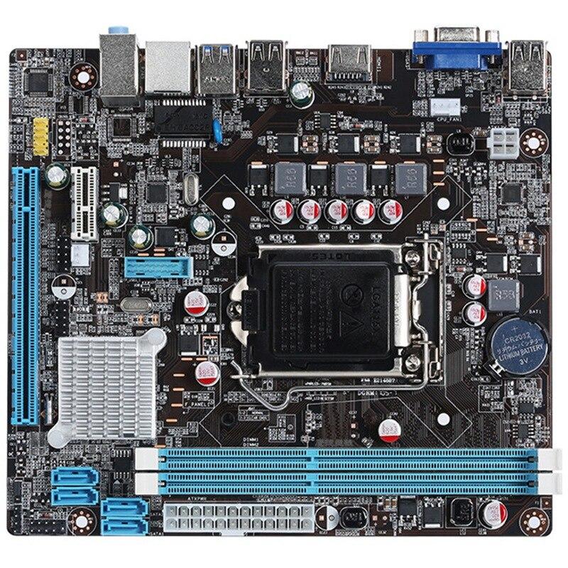 Lga 1155 B75 P8B75-M P8B75M/Csm Motherboard Socket Sata Iii 4 X Ddr3 32Gb Usb3.0 P8B75-M/Csm Mainboard