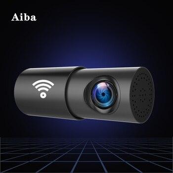 цена на Aiba A10 Car DVR APP 1080P HD Night Vision Dash Cam Wifi Car Camera Recorder 170 Degree Wide Angle G-sensor Original Dash Cam