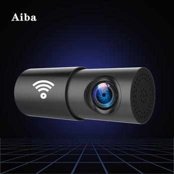 Aiba A10 Car DVR APP 1080P HD Night Vision Dash Cam Wifi Car Camera Recorder 170 Degree Wide Angle G-sensor Original Dash Cam phisung f900 10in 1080p hd car rearview mirror dvr camera g sensor dash cam
