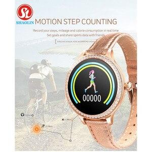 Image 5 - Female Smart Watch IP68 Waterproof Woman Smartwatch Menstrual Reminder Heart Rate Monitor Blood Pressure Ladies Tracker