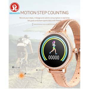 Image 5 - Newest Fashion Women Smart Watch Color Screen IP68 Waterproof Female Physiological Reminder For Apple IOS Bluetooth PK S9