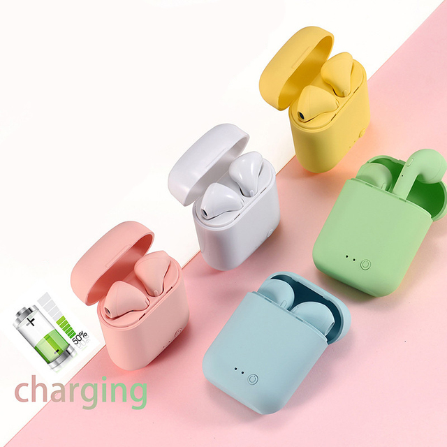 Dodocase mini 2 tws sem fio bluetooth fone de ouvido estéreo fone de ouvido com caixa de carregamento para iphone 6 7 8 x android ios sistemas