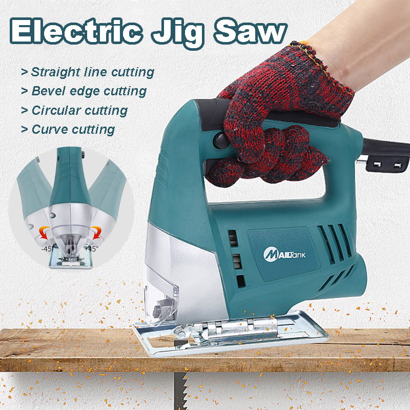350W Electric Pendulum 45° Jig Saw Convenient Continuous Mode Multi-angle Electric Saw Cutter Machine Jig Saw Power Tools