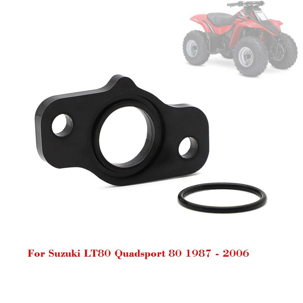 ATV Parts Carburetor Mounting Joint Insulator Seal O-ring Rubber Black For Suzuki LT80 LT 80 Quadsport 80 1987 - 2006 2005 2004