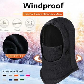 Ski Hat Cossack Cap Mask Women Practical Earflap Trapper Sport Equipment Snow Cap 2019 Portable Warm Faux Fur Winter image