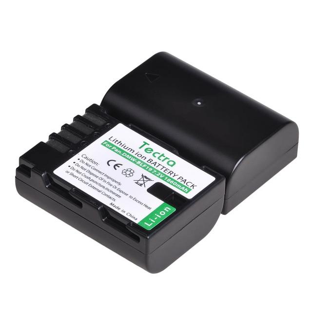 1pc 1860mAh DMW-BLF19E BLF19 DMW-BLF19 blf19e batterie + LED double chargeur/câble USB pour Panasonic Lumix GH3 GH4 GH5