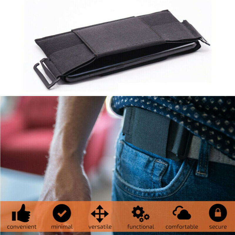 Ultrathin Pouch Waist Bag Minimalist Invisible Wallet Fashion Cool Mini Pouch Key Card Phone