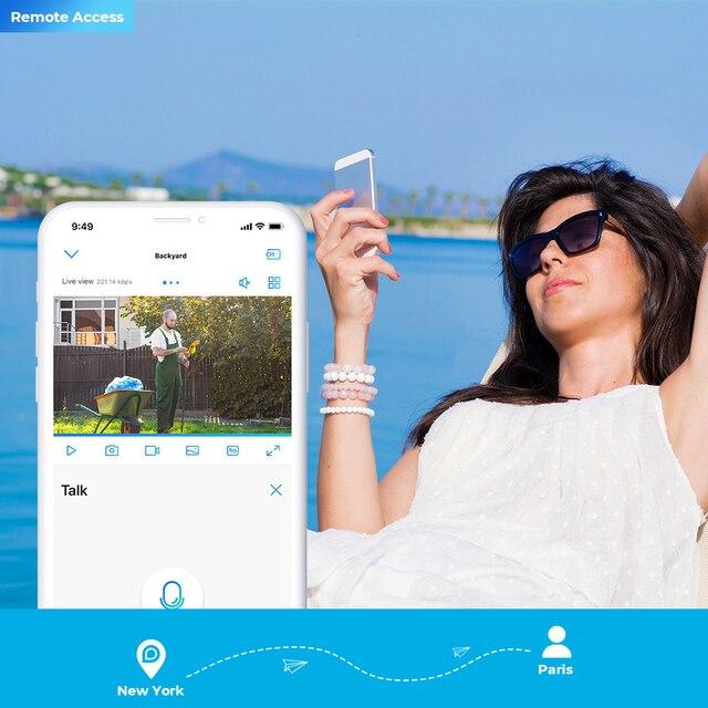 Reolink GO with Solar Panel Battery 4G Sim Card Network Camera Starlight Vision Wild Video Surveillance IP Cam 4