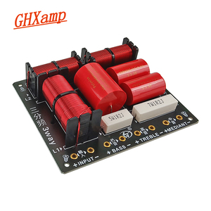 Image 1 - 260W 3 Way Crssover Audio Board Professional Speaker Filter Tweeter Midrange Bass Frequency Divider 900HZ/ 5000HZ