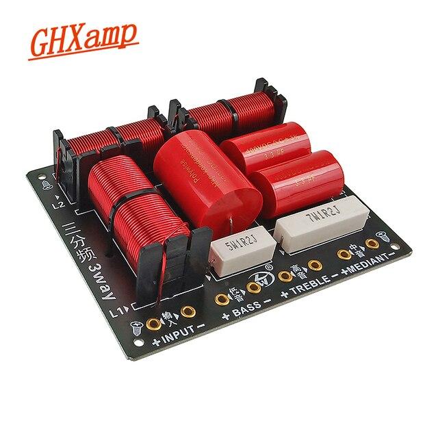 260W 3 Way Crssover Audio Board Professional Speaker Filter Tweeter Midrange Bass Frequency Divider 900HZ/ 5000HZ