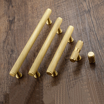 цена на Copper Furniture Handle Drawer Knobs Kitchen Handles Cabinet Knobs and Handles Gold Cupboard Handles Pulls