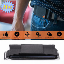 Simple Style Invisible Wallet Waist Bag Belt Pouch Card Holder Phone Travel Women Men Out Door Sports Hidden Security