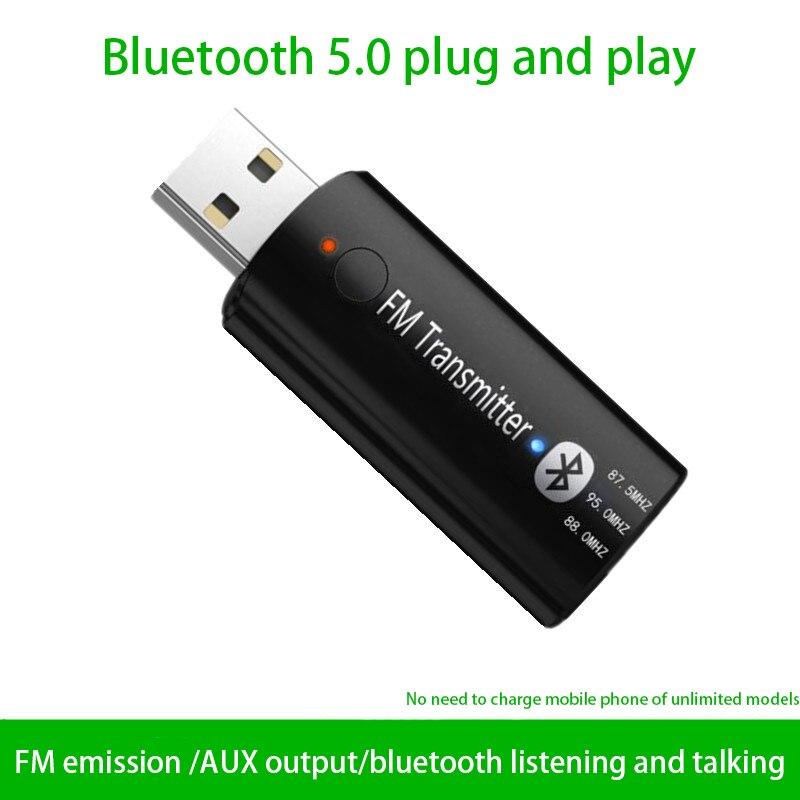 USB-Empf/änger-Sender-Car-Audio-aux-Adapter 3,5mm
