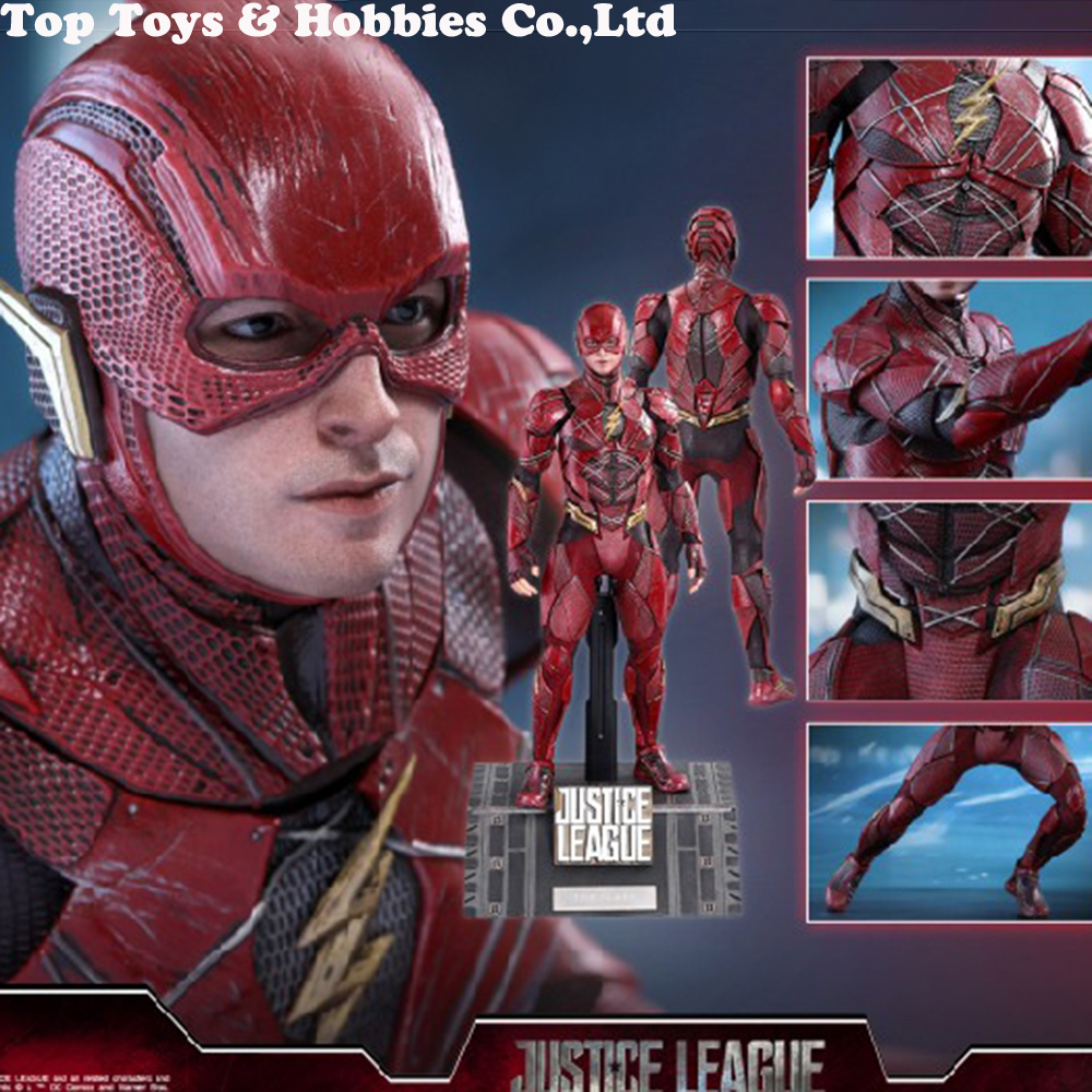 Hot Toys Justice League 1//6th scale The Flash Collectible Figure MMS448