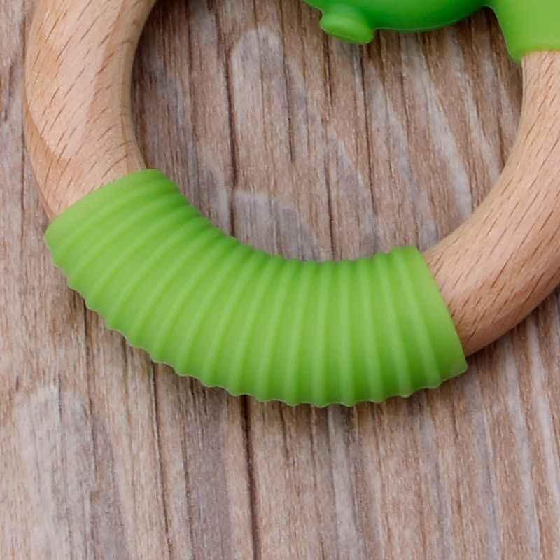 Ngô Vòng Tập Thể Dục Cầm Mọc Răng Đồ Chơi Silicone Không Chứa BPA Sơ Sinh Miếng Dán Làm Dịu Của Bé Đau Nướu Tắm Quà Tặng 85WA