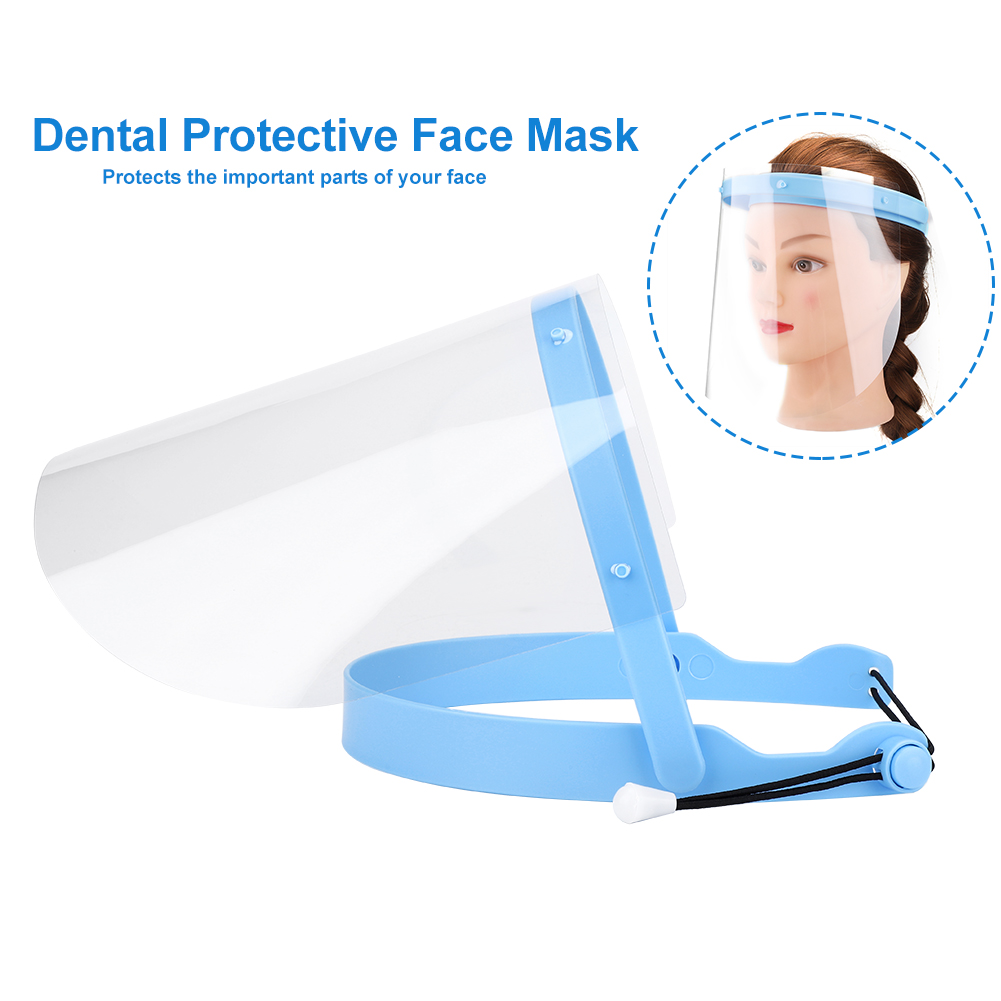 Pro 10Pcs Dustproof Anti-Fog Visor Films Frame Dental Protective Facial Mask Set Comfortable Design Protects The Important