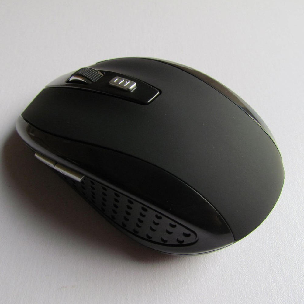 Wireless Mouse 2.4G Portable Wireless Mouse Cordless Optical Scroll Mouse For PC Laptop title=
