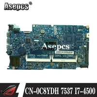 Akemy 12311 1 I7 4500U FOR DELL INSPIRON 15 7537 15R 7537 laptop motherboard mainboard CN 0C8YDH 0C8YDH C8YDH PWB:KWC14|Motherboards| |  -