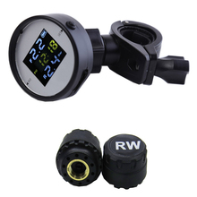 цена на TPMS Motorcycle Tire Pressure Monitor Vehicle Tire Pressure Detector Multi-Function Wireless Tire Pressure Monitor External