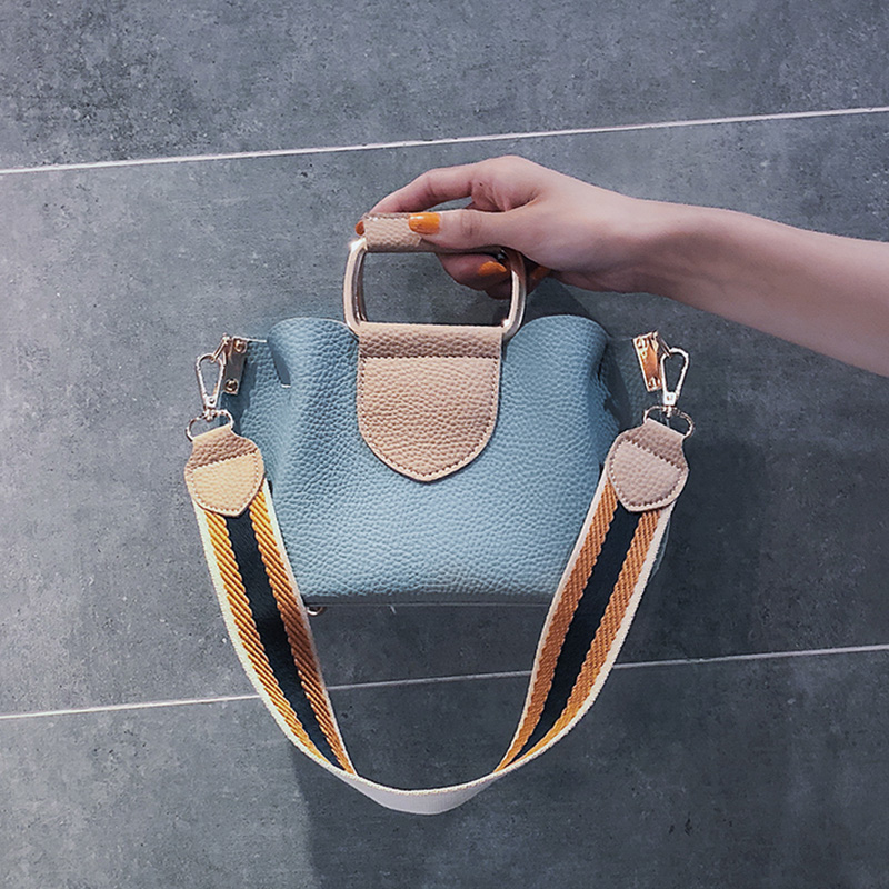 Fashion Women Shoulder Messenger Bag Girl Women 39 s Tote Handbag New Single Shoulder Broadband Antique Slant Bag 2019 Summer in Shoulder Bags from Luggage amp Bags