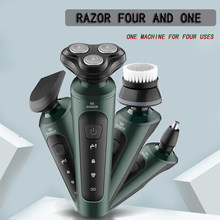 Shaver for men Electric Shaver Rechargeable Shaving Beard Razor Wet-Dry Dual Use Water Proof beard trimmer hair clipper