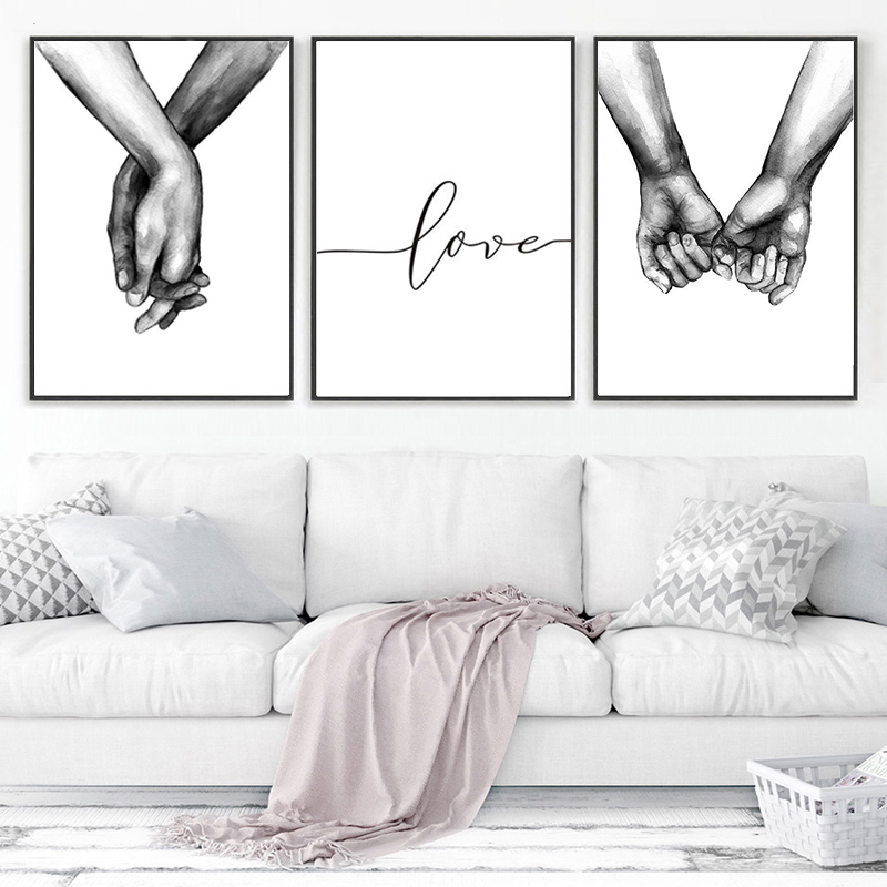 Posters And Prints Living Room Bedroom Canvas Painting Wall Art Nordic Laminas Decorativas Pared Cuadros Scandinavian Home Decor