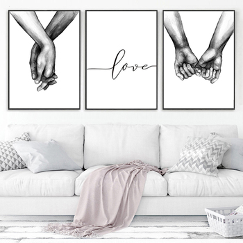 Posters And Prints Living Room Bedroom Canvas Painting Wall Art Nordic Laminas Decorativas Pared Cuadros Scandinavian Home Decor - discount item  35% OFF Home Decor