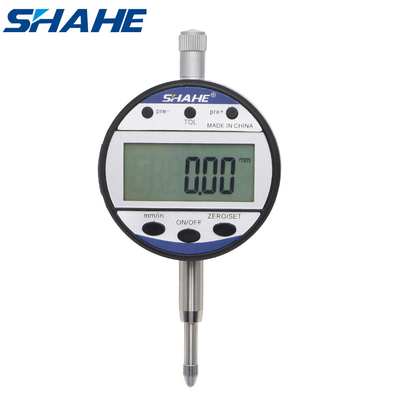 free shipping 0-12 7 mm 0 01 mm electronic digital indicator precision tools digital dial gauge digital dial indicator