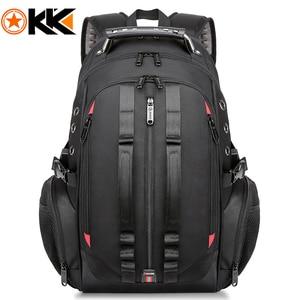 Male 45L Travel backpack 15.6 Laptop Backpack Men USB Anti theft Backpacks for teens schoolbag youth mochila women backbag(China)