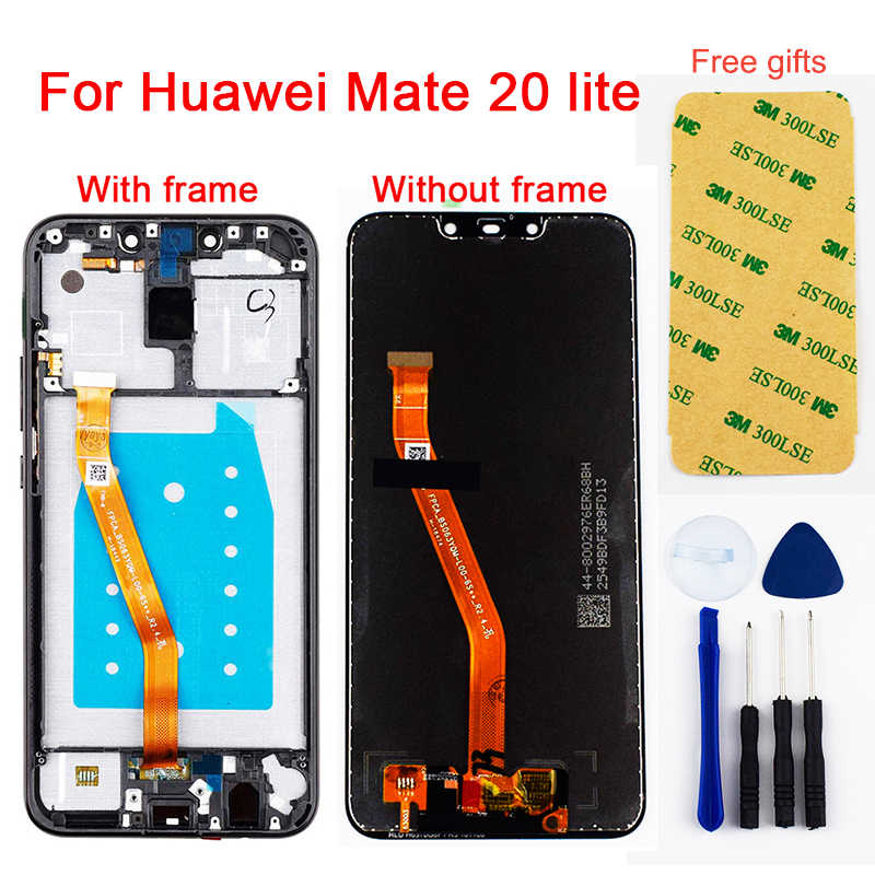 For Huawei Mate 20 lite LCD Display Panel Monitor + Touch Screen SNE-LX1 SNE-L21 SNE-LX3 SNE-LX2 L23 For Huawei Mate 20 lite