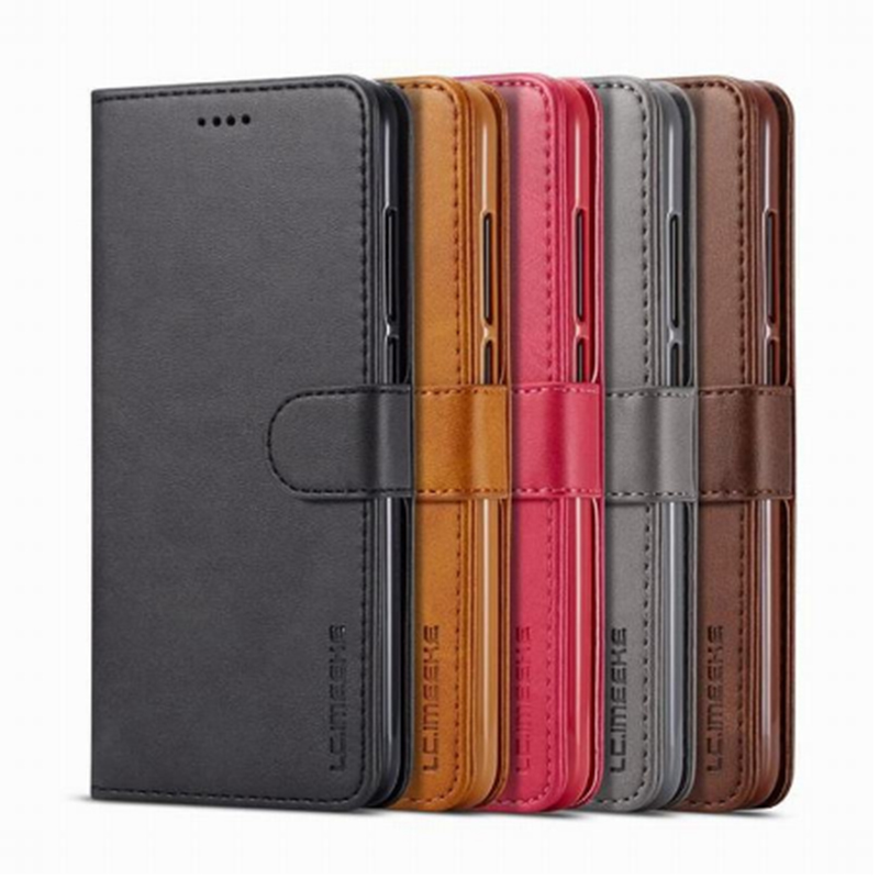 For Redmi 5 Plus Case Leather Wallet  Flip Cover With Card holder Phone Xiaomi Cases Bag Book