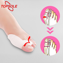 Get more info on the TOPSOLE 1 pair of silicone orthopedic straightening divider to relieve pain plantar fasciitis shoes silicone insoles O1002