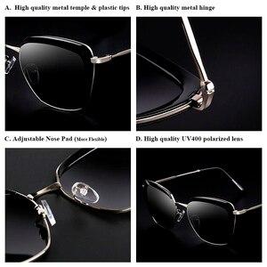 Image 3 - PARZIN Women Sunglasses Polarzied Elegant Lady Vintage Sun Glasses Women For Driving Eyewear Gafas De Sol Okulary