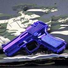 Mini pistola de aleación para niños, modelo de Beretta Colt, Águila del desierto Glock Gold 1:6, arma para adultos, colección