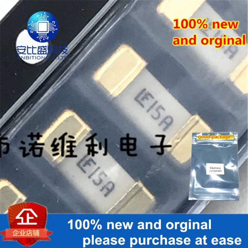 10pcs 100% New And Orginal Patch Fuse 1808 15A Golden Foot LF15A Disposable In Stock